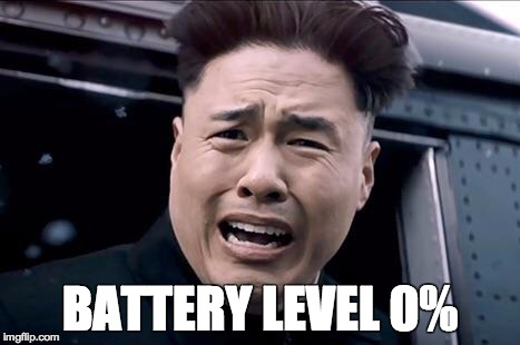 Kim Jung un | BATTERY LEVEL 0% | image tagged in kim jung un | made w/ Imgflip meme maker