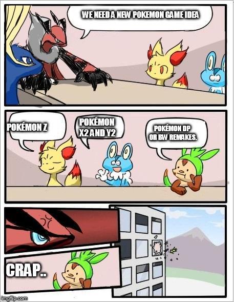 Pokemon Board Meeting - Imgflip-7029