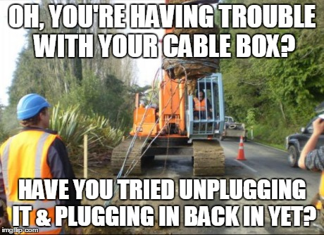 izvzt cable problems imgflip,Cable Meme