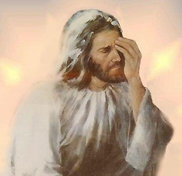 Image result for facepalm jesus