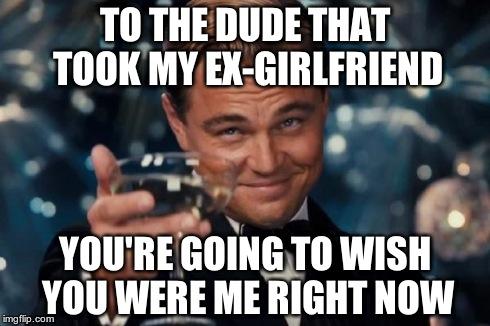 Dating my ex meme