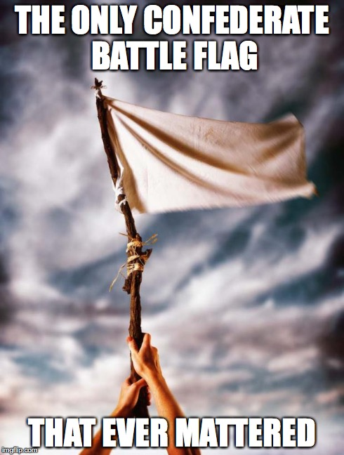 white flag - Imgflip