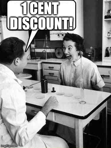 Doctor Consultation | 1 CENT DISCOUNT! | image tagged in doctor consultation | made w/ Imgflip meme maker