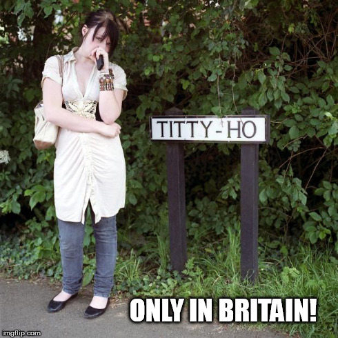 ONLY IN BRITAIN! | image tagged in titty ho,fluteboy | made w/ Imgflip meme maker