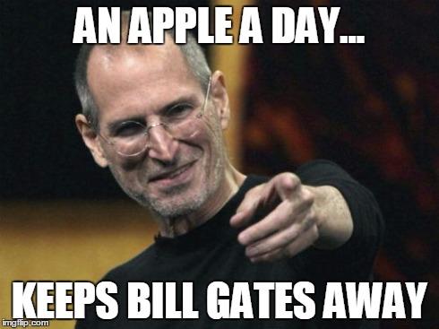 j7p5o steve jobs meme imgflip,Bill Gate Meme