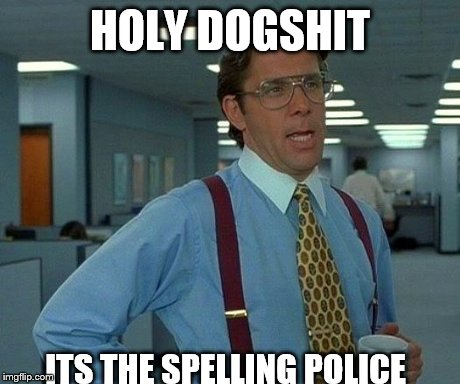 Image result for spelling police