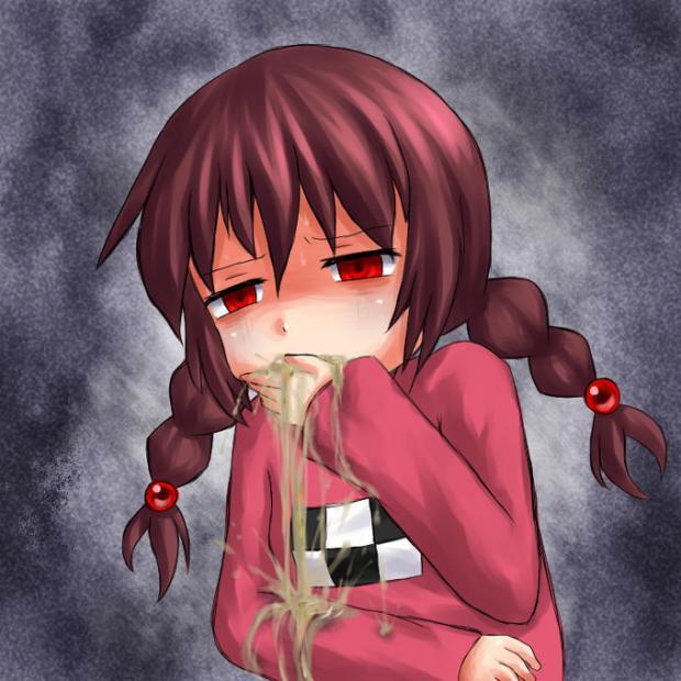 4chan logo throw up anime girl blank template imgflip