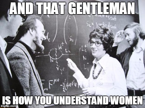 Every man needs this equation | AND THAT GENTLEMAN IS HOW YOU UNDERSTAND WOMEN | image tagged in equation,women | made w/ Imgflip meme maker