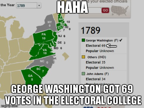 ja3sk the electoral college in 1789 imgflip