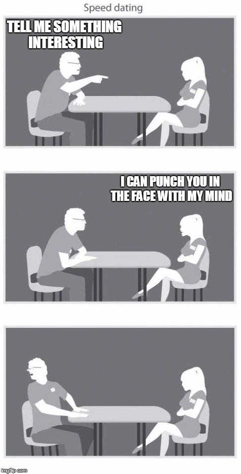 Tell me more about speed dating