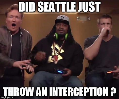 DID SEATTLE JUST THROW AN INTERCEPTION ? | image tagged in wtf moment | made w/ Imgflip meme maker
