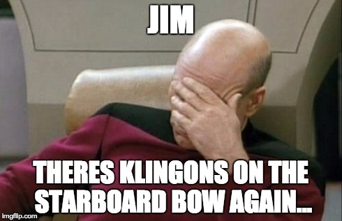 Image result for klingons on the starboard bow