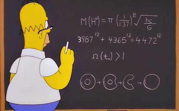 HomerSimpsonMath
