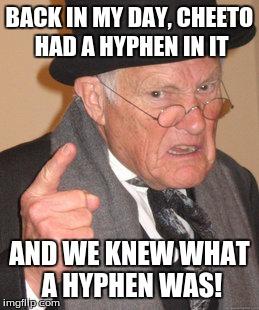 Image result for hyphen meme