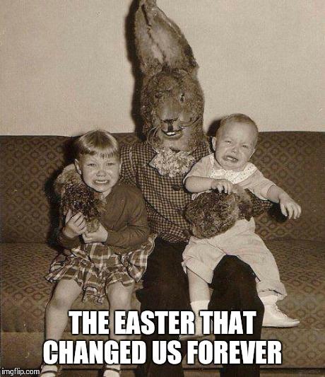jrujk creepy easter bunny imgflip,Creepy Memes