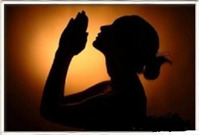 High Quality Woman praying  Blank Meme Template