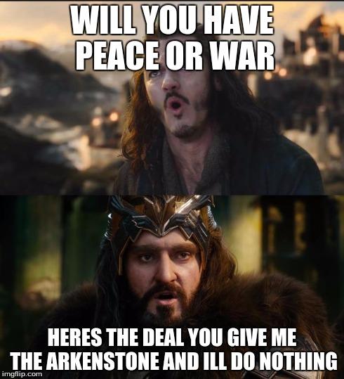 ju0ni hobbit war imgflip