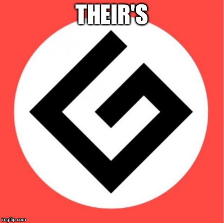 Grammar nazi | THEIR'S | image tagged in grammar nazi,mitt romney,rage comics | made w/ Imgflip meme maker