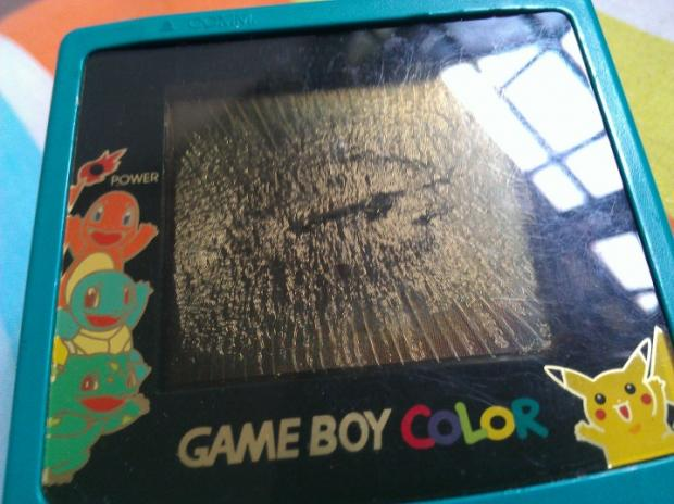 broken gameboy color pokemon blank template imgflip