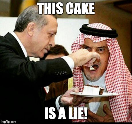 The Cake Is A Lie Meme Generator