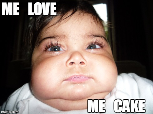 Funny Face Meme Maker : Image tagged in fat kid cake imgflip