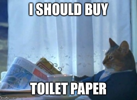 After using a single ply of a paper towel I found in my waste bin ...