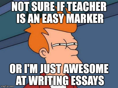 I'm not sure what to write an essay on?