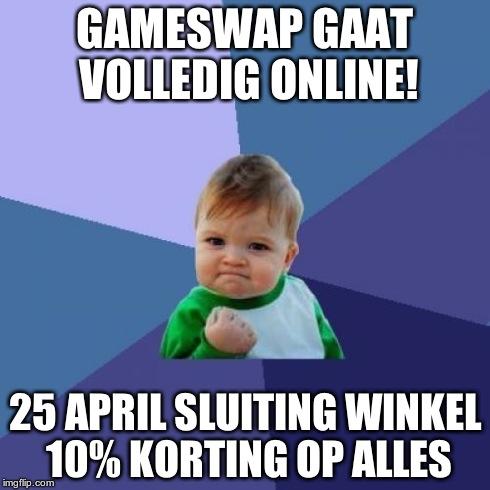 Gameswap gaat online
