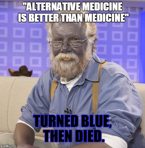 kbr3a blue alternative medicine man imgflip