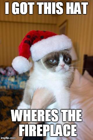 Grumpy Cat Christmas Meme - Imgflip
