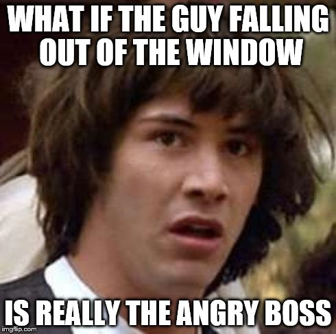 Conspiracy keanu meme imgflip for Window licker meme