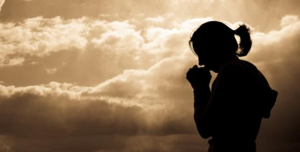 High Quality Woman Praying Blank Meme Template