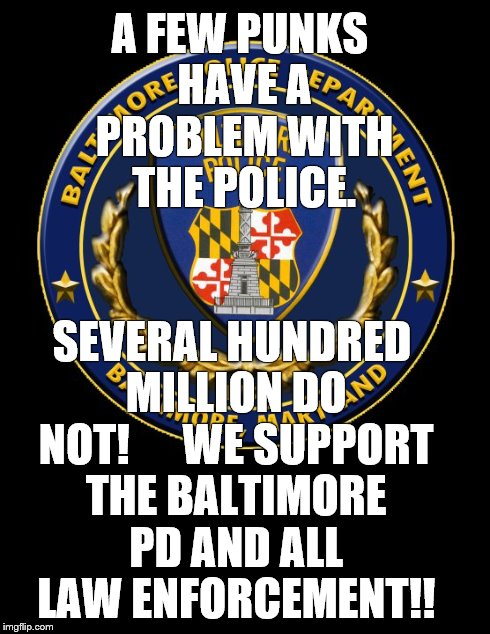 Day | A FEW PUNKS HAVE A PROBLEM WITH THE POLICE. SEVERAL HUNDRED ...