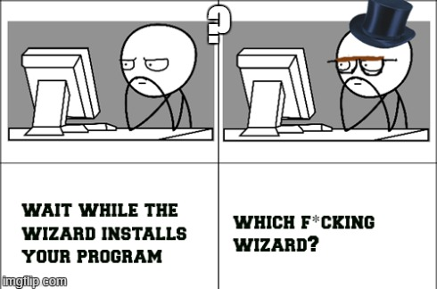 Wizard?  | ? | image tagged in picard wtf,captain picard facepalm,rage comics,computer guy,imagination spongebob,i see what you did there | made w/ Imgflip meme maker