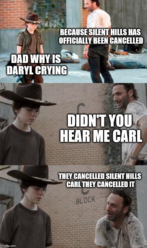 In memes rick and carl 3 silent hill made w imgflip meme maker