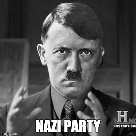 Ancient jews | NAZI PARTY | image tagged in ancient jews | made w/ Imgflip meme maker