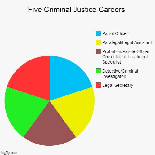 Five Criminal Justice Careers