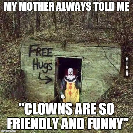 Scary Clown Memes Imgflip