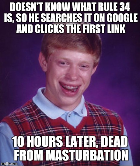 masturbation bad luck