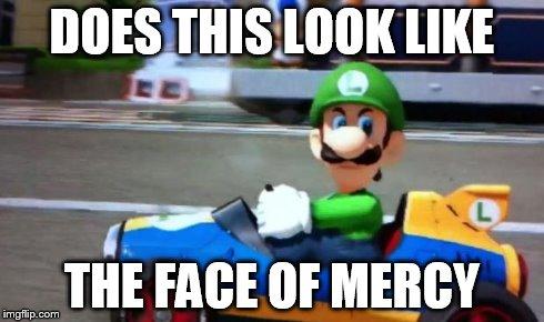Luigi Death Stare Memes Gifs Imgflip
