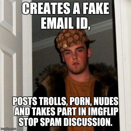 Porn spam email still