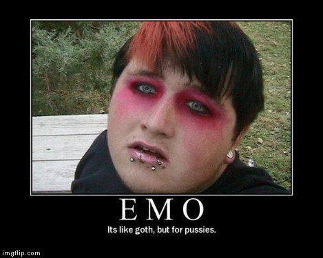 Emo | . | image tagged in emo | made w/ Imgflip meme maker