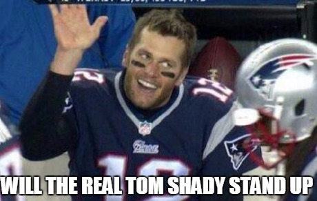 Tom Shady | WILL THE REAL TOM SHADY STAND UP | image tagged in tom shady,funny | made w/ Imgflip meme maker