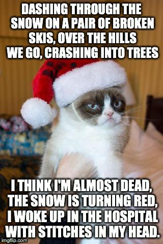 Grumpy Cat Christmas Meme Imgflip