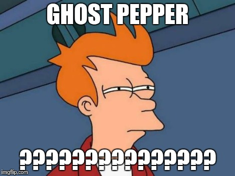 Futurama Fry Meme | GHOST PEPPER ??????????????? | image tagged in memes,futurama fry | made w/ Imgflip meme maker