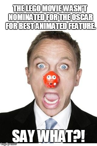 "Daniel Craig ""SAY WHAT?!"" 