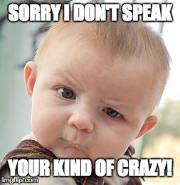 lou5f skeptical baby meme imgflip,How To Speak Meme
