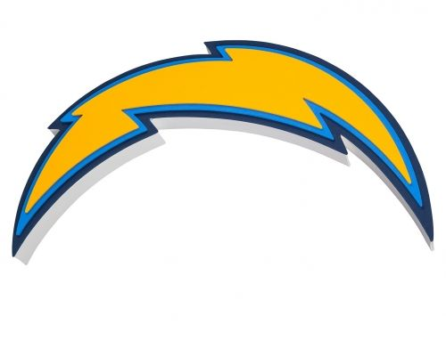 San Diego Chargers Bolt Logo Blank Template Imgflip