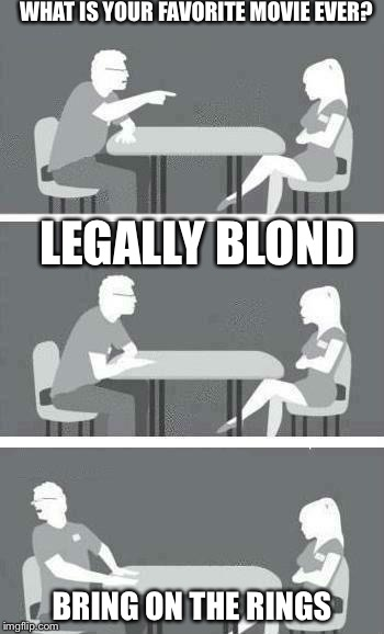 legally brown speed dating