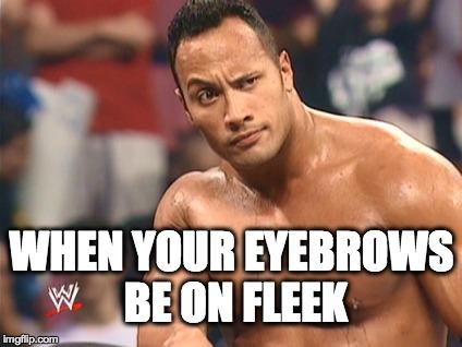 lqt3x eyebrows on fleek imgflip,Fleek Meme
